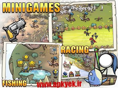 دانلود بازی دفاع کارتون Cartoon Defense 4 v1.1.2 اندروید