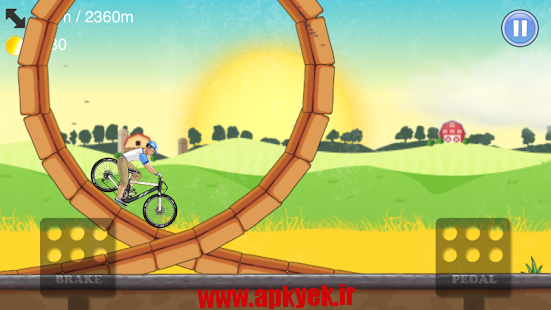 دانلود بازی دوچرخه Down the hill 2 v1.0.2 اندروید