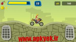 دانلود بازی هیل رایدر Extreme Hill Rider v1.1 اندروید