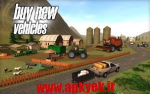 دانلود بازی کشاورزی Farmer Sim 2015 v1.1.0 اندروید