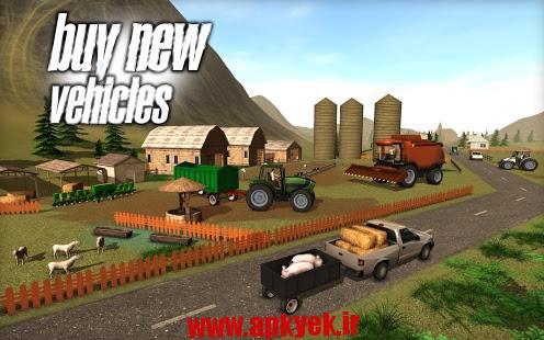 دانلود بازی کشاورزی Farmer Sim 2015 1.5.0 اندروید مود شده