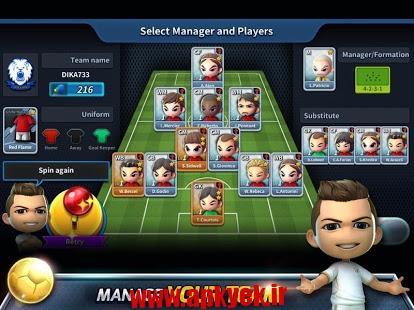 دانلود بازی اعتصاب فوتبال Football Strike v1.1.0 اندروید