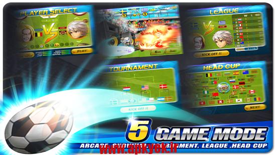 دانلود بازی رئیس فوتبال Head Soccer 5.4.2 اندروید