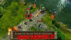 دانلود بازی قهرمان هرج و مرج Heroes of Order & Chaos v2.1.1a اندروید