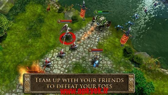 دانلود بازی قهرمان هرج و مرج Heroes of Order & Chaos 2.2.0j اندروید