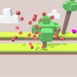 دانلود بازی پیکسلی پارک Hoppie v1.7 اندروید مود شده
