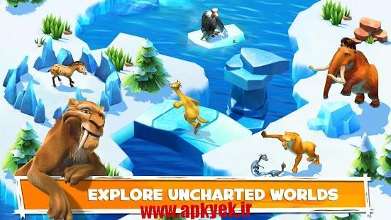 دانلود بازی عصر یخبندان Ice Age Adventures 3.4.2c اندروید
