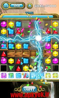 دانلود بازی پازلی جواهرات Jewels Saga v1.4.3 اندروید