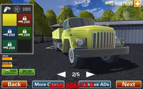 دانلود بازی بالا بردن کامیون Jurassic Hill Climber Truck v1.3 اندروید مود شده