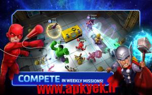 دانلود بازی مارول قهرمان ها Marvel Mighty Heroes v1.2.10 اندروید