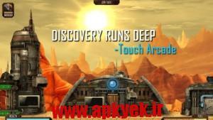دانلود بازی معدن سنگ Mines of Mars Scifi Mining RPG v2.2 اندروید