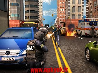 دانلود بازی پلیس مدرن Modern Police Sniper Shooter v1.0 اندروید