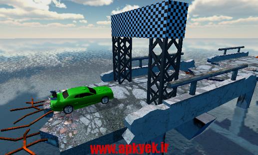 دانلود بازی پرش ماشین Muscle Car Trial New v1 اندروید