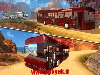 دانلود بازی اتوبوس گردشگری Off-Road Tourist Bus Driver v1.6 اندروید