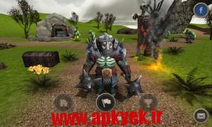 دانلود بازی اکشن OrcWar RTS v17 اندروید