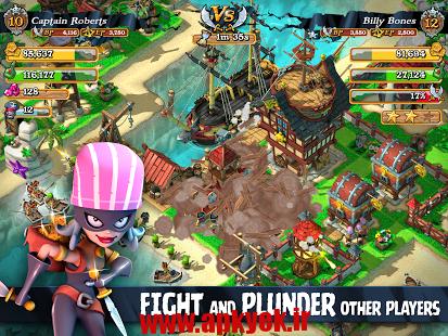 دانلود بازی دزدان دریایی غارتگر Plunder Pirates: Build Battle v1.9.2 اندروید