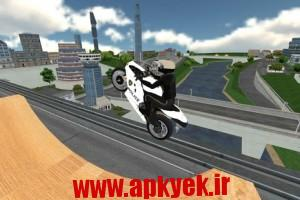 دانلود بازی موتور پلیس Police Moto Bike Simulator 3D v1.1 اندروید
