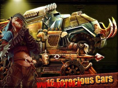 دانلود بازی ماشین جنگنده Road Warrior: Best Racing Game v1.4.8 اندروید