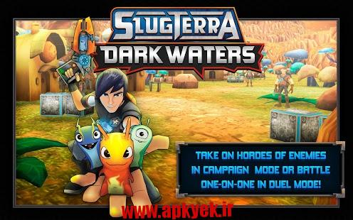 دانلود بازی اکشن کارتونی Slugterra: Dark Waters v1.0.1 اندروید مود شده