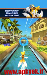 دانلود بازی سونیک داش Sonic Dash 2: Sonic Boom v0.1.2 اندروید