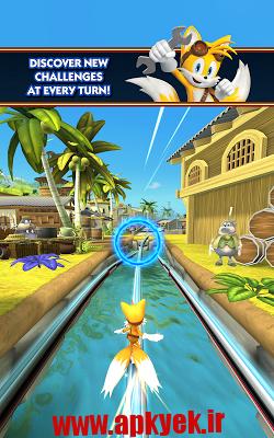 دانلود بازی سونیک داش Sonic Dash 2: Sonic Boom 1.3 اندروید
