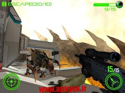 دانلود بازی هجوم به جنگ Space Invasion Combat v1.1 اندروید