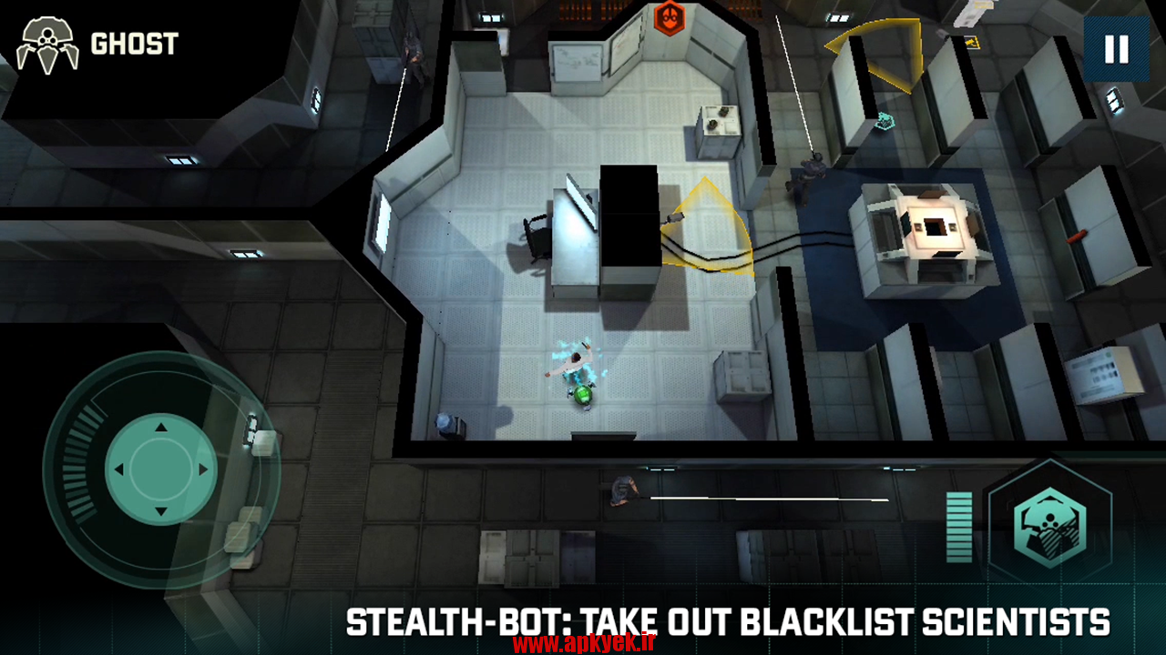 دانلود بازی عنکبوت های سیاه Splinter Cell Blacklist Spider-Bot v1.2.5 اندروید
