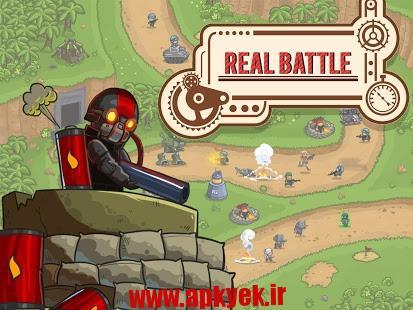 دانلود بازی ﺍﺳﺘﯿﻤﭙﺎﻧﮏ Steampunk Defense 1.6 اندروید مود شده