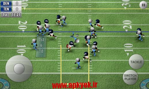 دانلود بازی فوتبال استکمن Stickman Football 1.4 اندروید