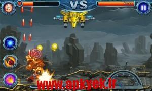 دانلود بازی مخازن جنگ هوایی Tanks War-Air Combat v1.0 اندروید
