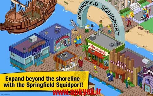 دانلود بازی سیمپسونها The Simpsons™: Tapped Out 4.24.5 اندروید مود شده