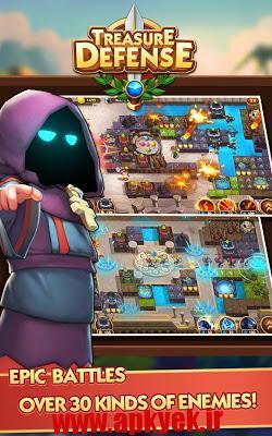 دانلود بازی دفاع از گنج Treasure Defense 2.2.0.23 اندروید