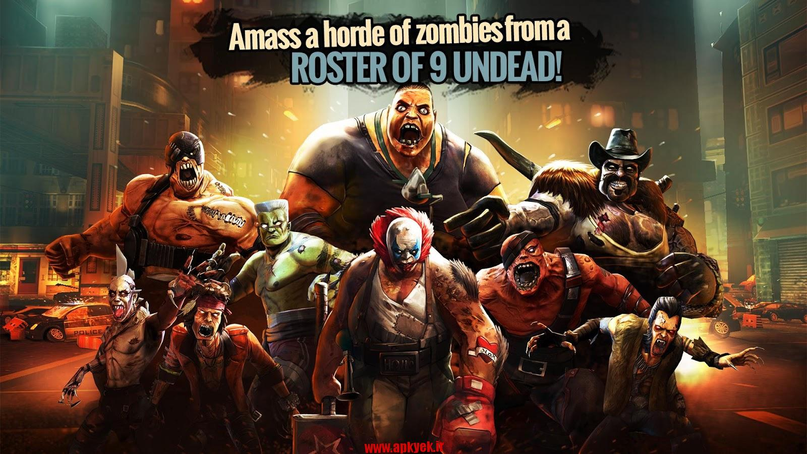 دانلود بازی مبارزه زامبی ها Ultimate Zombie Fighting v0.4.7 اندروید