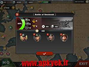 دانلود بازی فتح جهان World Conqueror 3 v1.1.0 اندروید