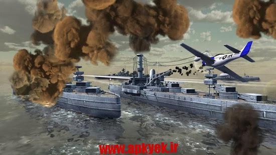 دانلود بازی کشتی جنگ World Warships Combat v1.0 اندروید مود شده