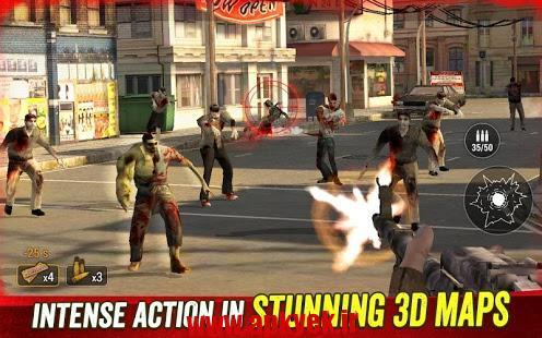 دانلود بازی شکارچی انسان Zombie Hunter: Apocalypse 2.0.1 اندروید مود شده