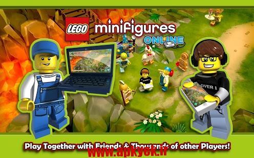 دانلود بازی آنلاین LEGO® Minifigures Online v1.0.532507 اندروید