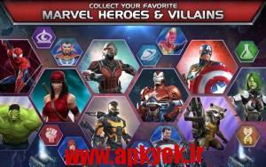 دانلود بازی مسابقه قهرمانان MARVEL Contest of Champions v4.0.0 اندروید