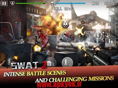 دانلود بازی اکشن اسوات SWAT 2 v1.0.6 اندروید