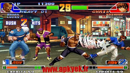 دانلود بازی پادشاه جنگنده ها THE KING OF FIGHTERS '98 v1.3 اندروید
