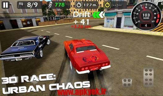 دانلود بازی شهر هرج و مرج 3d Race : Urban Chaos v1.0.5 اندروید