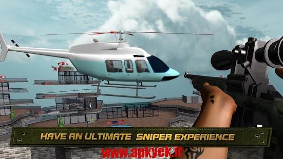 دانلود بازی تیراندازی در آمریکا American Sniper Assassin v1.1 اندروید