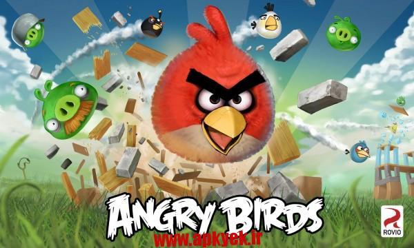 دانلود بازی پرندگان خشمگین Angry Birds v6.0.6 اندروید – همراه مود