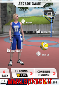 دانلود بازی قهرمان بسکتبال Basketball Champion v1.1.3 اندروید مود شده