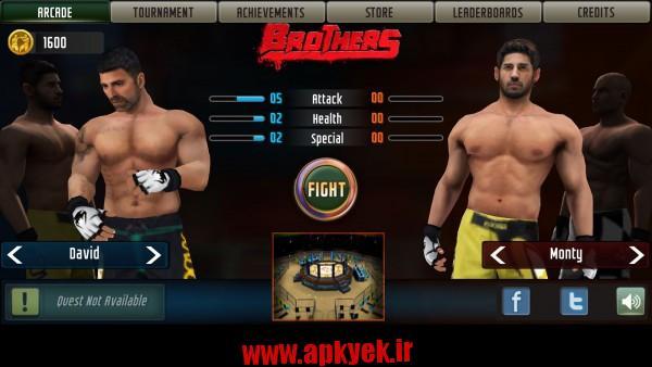 دانلود بازی برادران جنگنده Brothers: Clash of Fighters 4.3 اندروید مود شده
