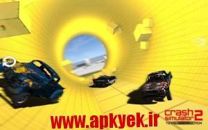 دانلود بازی نابودی کامل ماشین Car Crash 2 Total Destruction v1.0 اندروید
