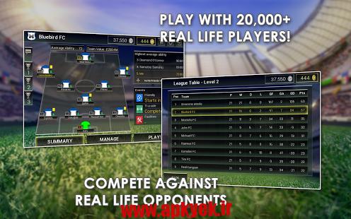 دانلود بازی مسابقات قهرمانی Championship Manager:All-Stars v1.0.6.993 اندروید