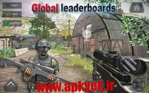 دانلود بازی وظیفه مدرن Combat Duty Modern Strike FPS v0.53 اندروید