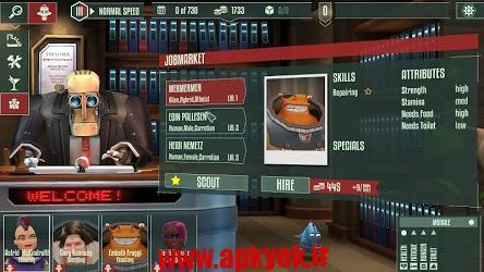 دانلود بازی دسترسی سریع Cosmonautica (EARLY ACCESS) v1.1.6 اندروید