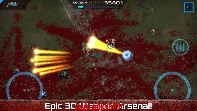 دانلود بازی اچ دی Crimsonland HD v1.0.0 اندروید